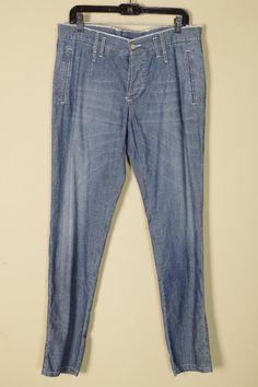 $696 Dolce & Gabbana Blue Jeans sz 48 | 32 34 New Denim Pants Trousers Skiiny #DolceGabbana #SlimSkinny