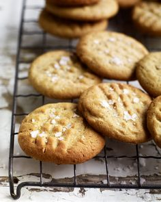 Say goodbye to salted caramel and hello to salted peanut butter with Debbie Major's quick cookie recipe.