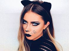 Halloween makeup looks you need to try, . - 8 Halloween makeup looks you need to try up Halloween makeup looks you need to try, . - 8 Halloween makeup looks you need to try up - Maquillage Halloween Zombie, Cat Halloween Makeup, Halloween Eyes, Halloween Makeup Looks, Easy Halloween, Halloween Costumes, Cat Costume Makeup, Halloween 2019, Diy Costumes