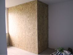 Raw materials,make really nice space in this,case we used osb boards to made closet, owner painted it.