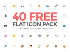 Hello Dribbblers, I am happy to share with you 40 of our best icons from the most recent project that I've completed with Barac. They are part of Squid.ink Flat Icon Pack that offers 2000 . Web Design, Icon Design, Free Icon Packs, Glyph Icon, Best Icons, Embedded Image Permalink, Icon Set, Flat, Pictogram