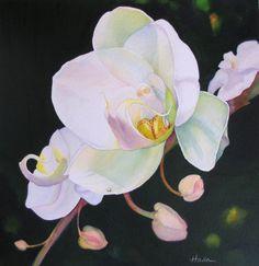 "Contemporary Painting - ""Opening"" (Original Art from Clara Hada)"