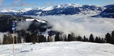Beschilderung im österreichischen Skigebiet Mayrhofen. ©Mayrhofner Bergbahnen Snowboarding, Skiing, Mount Rainier, Winter, Mount Everest, Mountains, Nature, Travel, Dance Floors