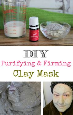 DIY Purifying & Firming Clay Mask