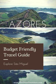 Budget Friendly Travel Guide to São Miguel, Azores. Everything you need to know to plan your trip to this amazing island in Portugal. #BudgetTravel #Portugal #Azores #SaoMiguel #Europe #TravelGuide