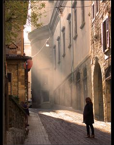 Old town light (Bergamo, Province of Bergamo ! Lombardy region Italy .#WonderfulExpo2015 #WonderfulLombardy #WonderfulBergamo