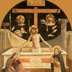 Fra Angelico, Man of Sorrows, 1441