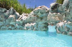 Hot springs in San Miguel de Allende Mexico
