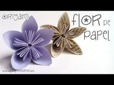 ¿Qué es origami, kusudama y kirigami? Kirigami, Paper Flowers Diy, Paper Roses, Flower Diy, Paper Craft Supplies, Paper Crafts, Crafts To Do, Diy Crafts, Paper Craft Making