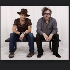 Tim Burton e Jonnhy Depp