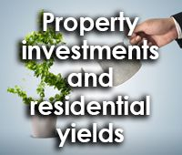 Property investments and residential yields
