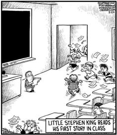 Stephen King's first story.