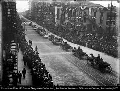 Industrial Exposition Parade in Rochester, New York 1910