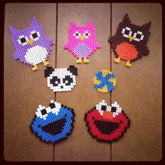 Perler bead stuff by katrinaloong