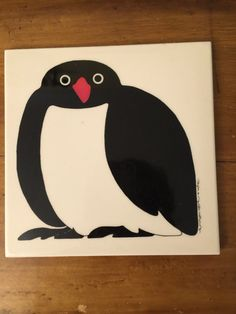 Penguin Taylor and Ng Ceramic Tile Minimals by PineStreetPickers