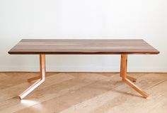 Independence Dining Table by Monroe Workshop
