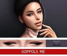 "goppolsme: "" GPME Liner cc7 • 5 Swatches • Download • ( PAYPAL ) BUY ME A COFFEE ❤ • Thank for support me ❤ • Thanks for all CC creators ❤ • Hope you like it . """