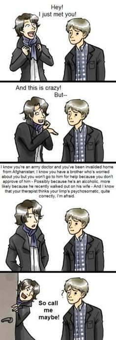 Sherlock... I think this is my favorite parody of this song!!!