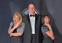 The Knowledge Transfer Partnership team - Nicola Moules, Paul Yeomans & Andrea McCluskey