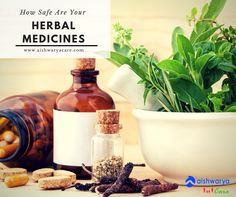If we look at herbal medicines, they contain many inactive ingredients, about which the manufacturing company rarely gives any information. Most of the developed countries like US or Canada have not given status to the herbs as a form of medicine.