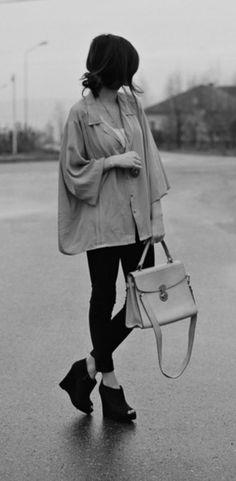j'adore le look decontracte! i love the casual look!  (J'ADORE!!!)