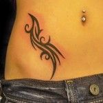 Beautiful Tribal Tattoo for Women