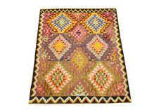 Pastel Kilim Rug Handmade rug 43 x 33 Feet Small by kilimwarehouse, $279.00