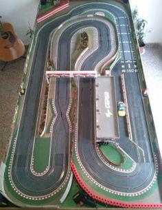 Un hobby? Slot Car Racing, Slot Car Tracks, Slot Cars, Circuit Scalextric, Scalextric Track, Scalextric Digital, Las Vegas, Game Design, Le Mans