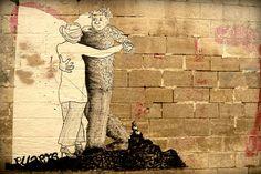 arles, 2008. Ella & Pitr Street Artists