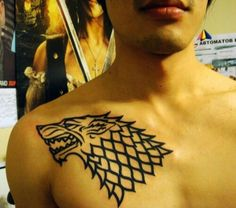 Tattoo game of thrones starks