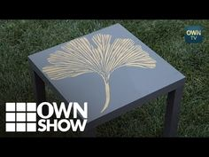 How To Stencil A Table in Two Minutes « Stencil Stories