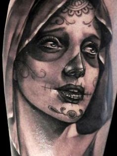 matteo pasqualin day of the dead tattoo