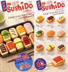 Sugar Rush: Thailand has donuts that look like Sushi