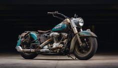 Harley Davidson Heritage Softail Custom Bobber Vintage Style Rat Bike BobberPros
