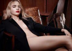 Cara Delevingne for YSL #yslbeauty