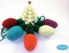 Fuente: http://www.adoraideas.com/2013/12/03/guirnalda-de-luces-navidenas-patron-gratis-incluido/