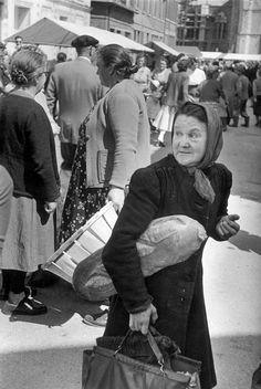 Haute-Normandie, Seine-Maritime, Auffay, France 1953 by Henri Cartier-Bresson