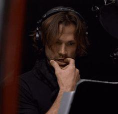 Jared biting his fingernails.