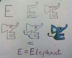 E= Elefante
