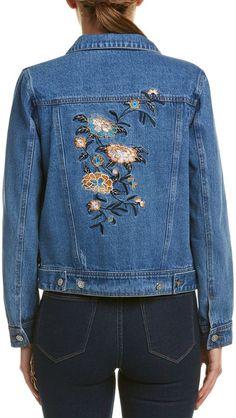 Lunik Embroidered Denim Jacket