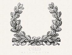 16 Oak Leaf Images with Acorns | Project Life | Acorn ...