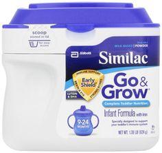Similac Go & Grow Milk Based Formula, Powder, 22-Ounces (Pack of 6) - http://goodvibeorganics.com/similac-go-grow-milk-based-formula-powder-22-ounces-pack-of-6/
