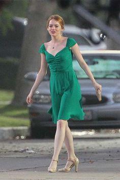 未上映先引起哄動!搶先預覽《La La Land》Emma Stone 的 9 個超美復古造型!