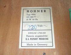 Original HOHNER Organetta . Vintage Electro Orgel . aus den 1950 in Nord - Hamburg Barmbek | Musikinstrumente und Zubehör gebraucht kaufen | eBay Kleinanzeigen
