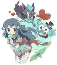 Dawn, Pokemon, Twitter, Anime, Characters, Figurines, Cartoon Movies, Anime Music, Animation