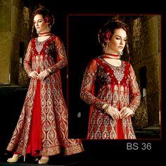 <ul>   <li><strong>Bs 36Full Embroidered Complete 3 piece Suit</strong></li>   <li>Top :- EmbroideredChiffon 4.5Mtrs  Dupatta :- chiffon Embroidered 0.75 Mtrs.  Work :- Embroidery heavy work, zari work,</li>   <li>Indian Soft crepe 2.5mtr trouser</li>  </ul>