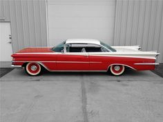 1959 OLDSMOBILE 98 2 DOOR COUPE - Side Profile - 174585