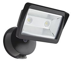 Lithonia Lighting OLFL 14 PE BZ M4 Security LED Dusk-to-Dawn Floodlight, Black Bronze