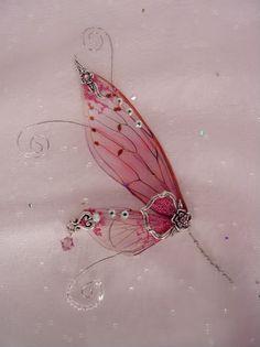 tutorials for making fairy wings imprimir com papel de retroprojetor a forma das asas com as veias e pintar.