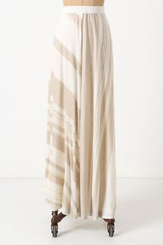 Esker Maxi Skirt #anthropologie  #stylesquared